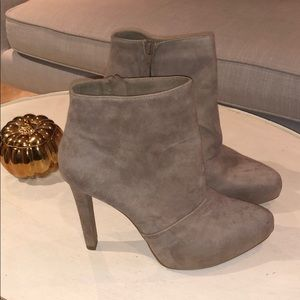 Zara boots with heel SIZE 11